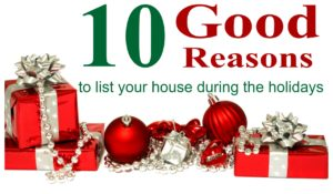10 good reasons to list your house during the holidays