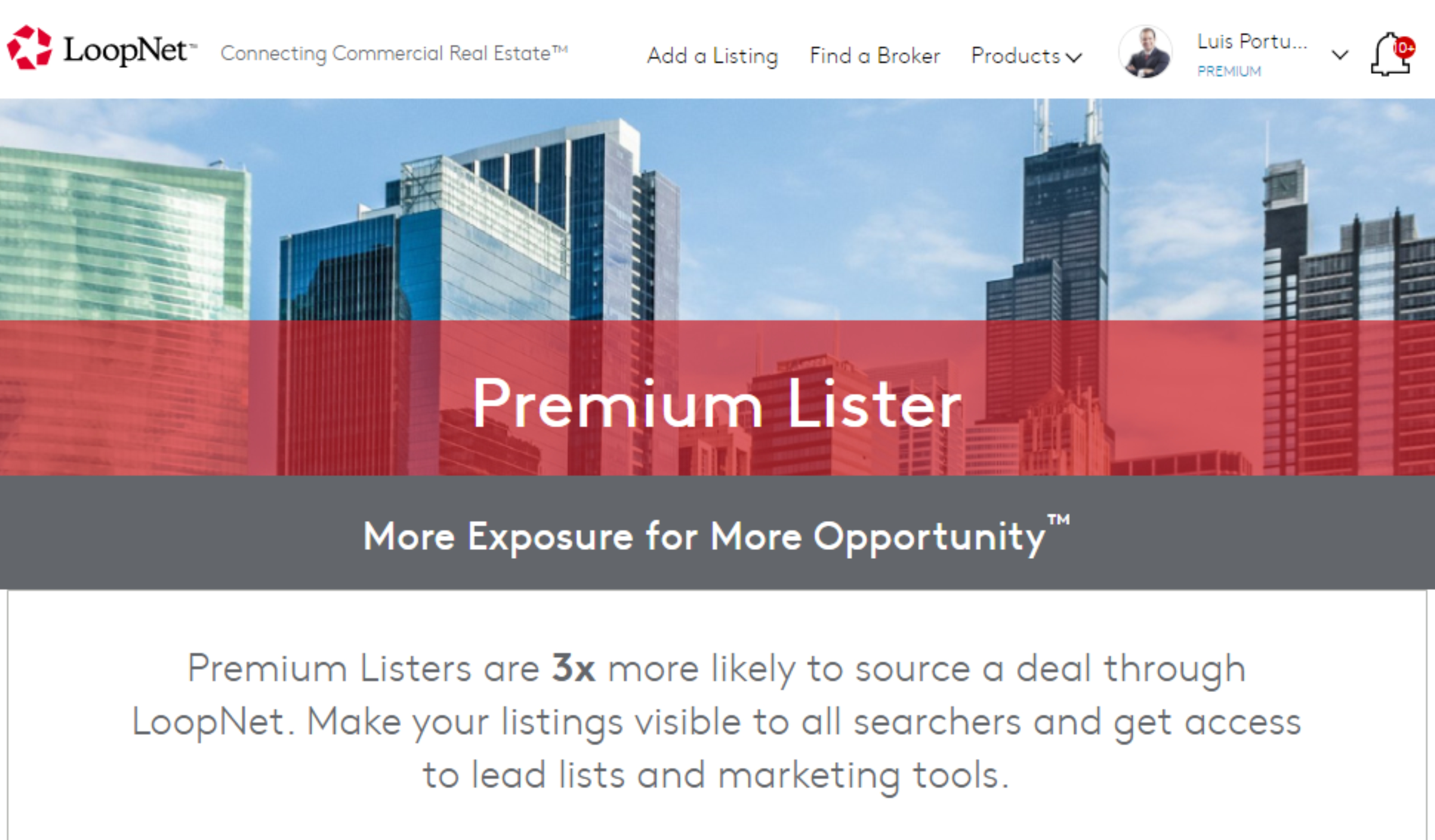 Loopnet Premium Member - I'm Your Commercial Real Estate Partner